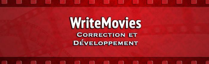WriteMovies Correction et Developpement