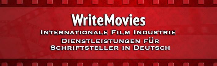Internationale Film Industrie – Dienstleistungen für Schriftsteller in Deutsch