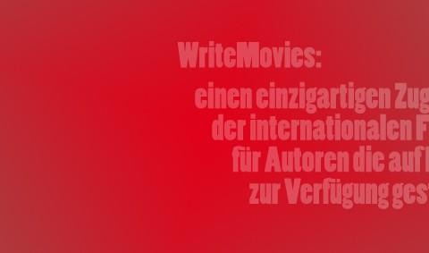 WriteMovies - einen einzigartigen Zugang zu der internationalen Filmindustrie für Autoren die auf Deutsch schreiben zur Verfügung gestellt