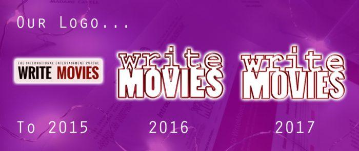 Our logo... WriteMovies. To 2015 - 2016 - 2017.