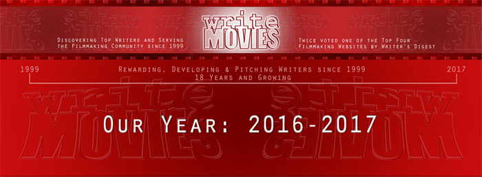 Our Year 2016-2017 – A Year in the life of a Screenwriting Company