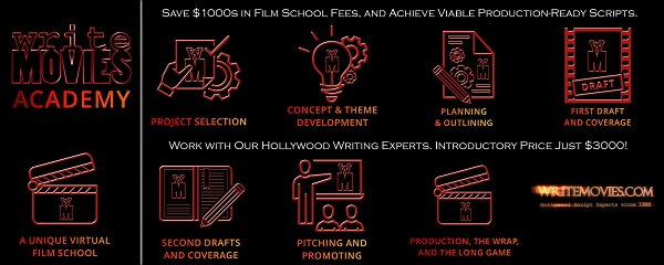 Acclaim for WriteMovies Academy – read the testimonials and comments!