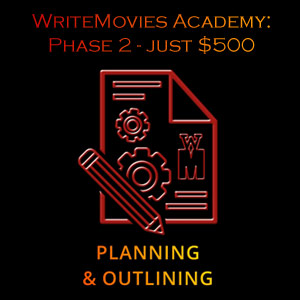 WriteMovies Academy Phase 2 - Script planning and outlining