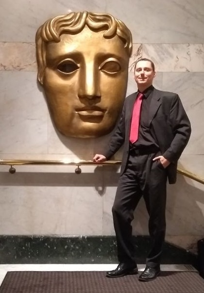 Ian Kennedy at BAFTA
