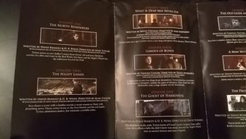 Game of Thrones Season 2 DVD extras