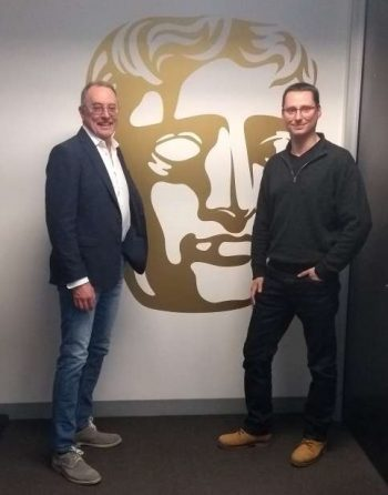 Ian Kennedy and Wayne Watkins at BAFTA LA