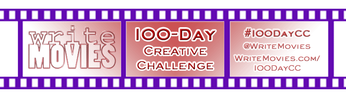 WriteMovies 100-Day Creative Challenge enters PHASE 2!