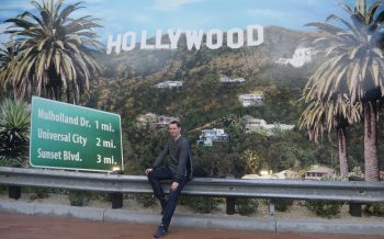 Ian & Hollywood sign
