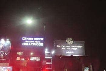 Dolby Sign - Welcome to Hollywood