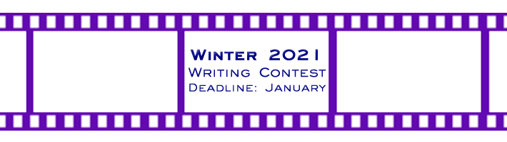Winter 2021 Screenwriting Contest now OPEN!