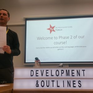 Development and Outlining Session