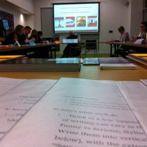 Scripts in class
