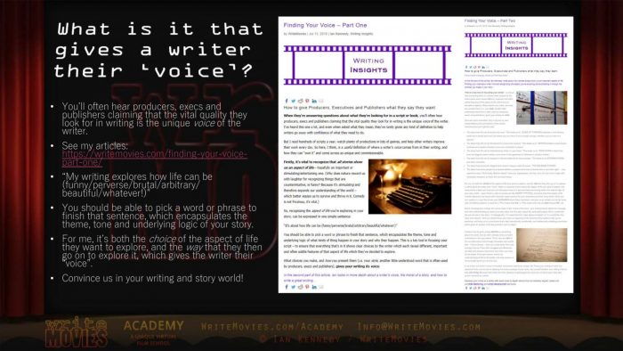 WriteMovies Academy Phase 1-online course