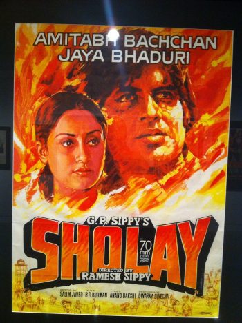 SHOLAY (1975) - Movie Poster