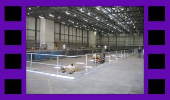 """Oh, and in other industry news, apparently there's a Bond movie out this Fall as well. I'm guessing I can't say """"you heard it here first!"""" but anyway! In honor of it, this is the 007 Stage at Pinewood Studios photographed by our Director"""